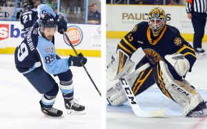 PITTSBURGH SIGNS GAUDREAU, LEGACE TO TWO-WAY DEALS