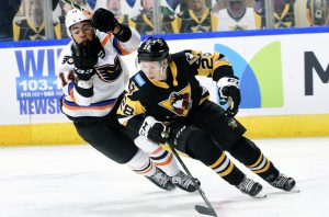 PENGUINS DROP 4-3 OVERTIME DECISION TO PHANTOMS