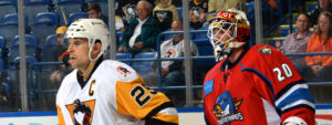 Read more about the article PENGUINS STIFLED BY SPRINGFIELD, LOSE 1-0