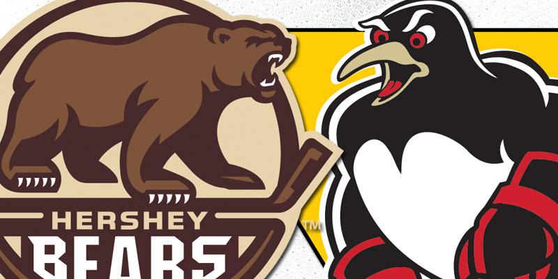 Hershey vs Penguins