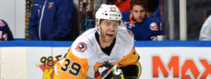 Read more about the article PENS' TOP LINE ROARS TO LIFE AGAINST SOUND TIGERS IN 4-3 WIN