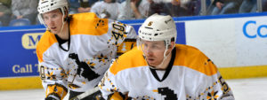 Read more about the article PENGUINS WIN FIFTH-STRAIGHT WITH 4-2 TRIUMPH OVER T-BIRDS