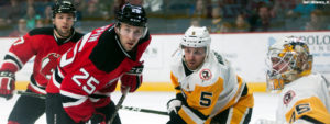 Read more about the article PENGUINS SHUT-OUT BY DEVILS, 4-0