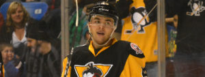 Read more about the article STRONG START SEES PENGUINS BEAT BRUINS, 3-2
