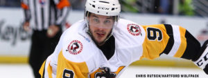 Read more about the article DEA, WARSOFSKY LEAD PENS TO 6-3 WIN OVER WOLF PACK