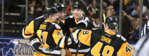 Read more about the article DESMITH STOPS 26, PENGUINS SHUT-OUT PHANTOMS AGAIN