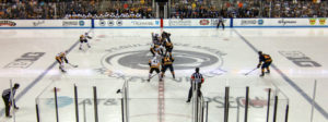 PENS FALL IN OT TO SABRES AT PSU