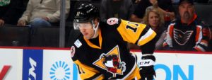 Read more about the article COMEBACK FALLS SHORT IN PENGUINS' 3-2 LOSS TO PHANTOMS