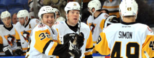 PENGUINS EMERGE VICTORIOUS FROM 6-5 OVERTIME THRILLER