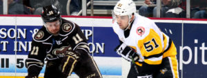 Read more about the article PENGUINS BEAT BEARS WITH DOMINIK SIMON'S OVERTIME WINNER