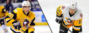 Read more about the article PENGUINS GET TIFFELS AND WYDO FROM WHEELING