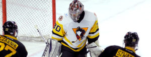 Read more about the article PENGUINS' WIN STREAK HALTED IN 1-0 LOSS AT PROVIDENCE