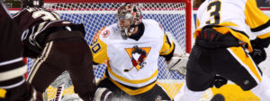 Read more about the article PETERS, PENGUINS BLANK BEARS, 4-0