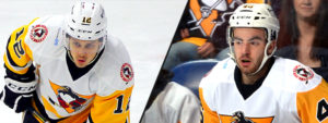 Read more about the article PENGUINS RECALL WYDO AND GARDINER FROM NAILERS