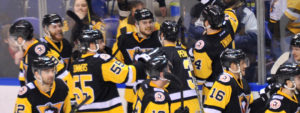 Read more about the article PENGUINS ROAR BACK AGAINST SOUND TIGERS, WIN 3-2