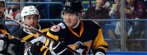 Read more about the article PENGUINS LOSE HEATED BATTLE WITH BRUINS, 3-1