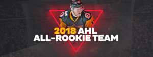 Read more about the article DANIEL SPRONG NAMED TO AHL ALL-ROOKIE TEAM