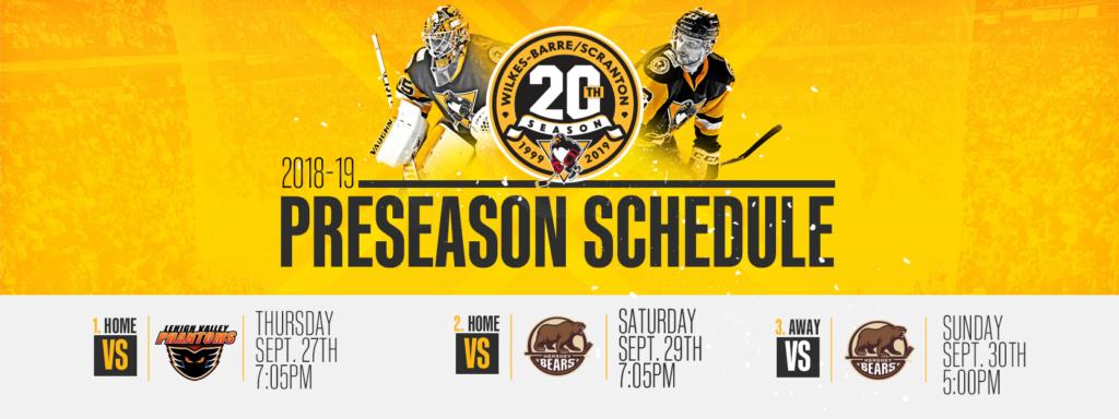 penguins-announce-three-preseason-games