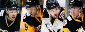PENGUINS SIGN O'NEILL, HAGGERTY, McGRATH AND BROWN
