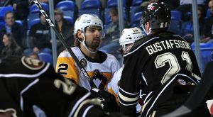 Read more about the article VALIANT COMEBACK FALLS SHORT AS PENGUINS LOSE TO BEARS, 3-2