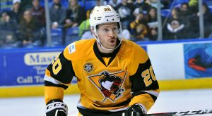 PENGUINS LOSE TIGHT ONE TO P-BRUINS