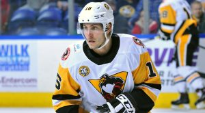 PENGUINS LOSE LATE TO CHECKERS, 2-1