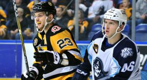 PENGUINS FALL TO ADMIRALS, 5-3