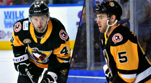 PENGUINS REASSIGN BROWN AND SPINOZZI TO WHEELING