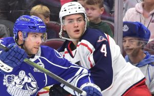 Read more about the article PENGUINS ACQUIRE BLAKE SIEBENALER FROM COLUMBUS