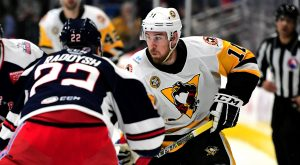 Read more about the article PENGUINS COME BACK TO FORCE OT, BUT LOSE TO WOLF PACK