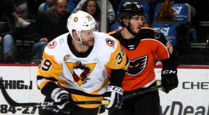 Read more about the article PENGUINS LOSE AT LEHIGH VALLEY, 4-2