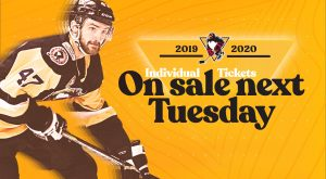 INDIVIDUAL GAME TICKETS GO ON SALE SEPT. 3
