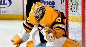 Read more about the article LARMI SHUTS-OUT BEARS IN PENGUINS' PRESEASON WIN