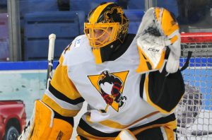 DeSMITH RECORDS 35-SAVE SHUTOUT IN 2-0 WIN OVER CRUNCH