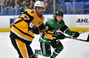 PENGUINS FALL TO STARS, 4-3