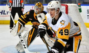 PENGUINS LOSE TO BRUINS, WILL REMATCH ON FRIDAY