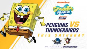 Read more about the article NICKELODEON NIGHT FEATURING SPONGEBOB SQUAREPANTS THIS SATURDAY
