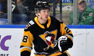 PENGUINS RECALL CHRISTOPHER BROWN FROM WHEELING
