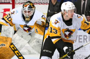 EMIL LARMI, JAN DROZG REASSIGNED TO WHEELING