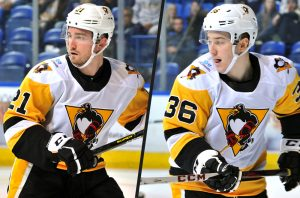 PENGUINS RECALL SCARFO, REASSIGN HAWKINS