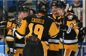 Read more about the article SPECIAL TEAMS LIFT PENGUINS OVER DEVILS, 2-1