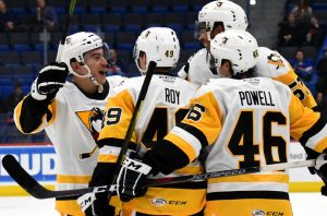 Read more about the article JOSEPH SCORES TWICE IN PENGUINS' 2-1 WIN AT HARTFORD