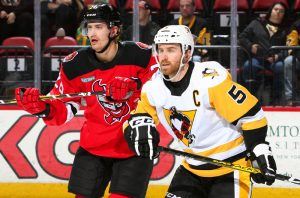 PENGUINS CAN'T CLAW BACK IN THIRD PERIOD, LOSE TO DEVILS