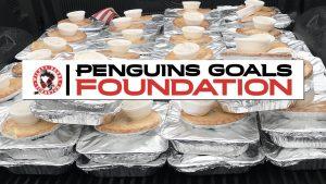 PENGUINS GOALS FOUNDATION PROVIDES 130 HOLIDAY MEALS