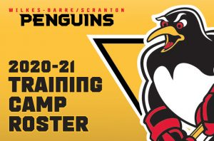 PENGUINS ANNOUNCE TRAINING CAMP ROSTER