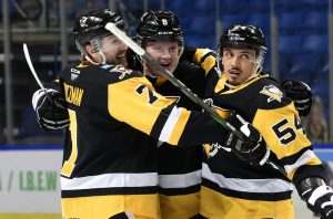PENGUINS ROLL PAST PHANTOMS WITH 4-2 WIN