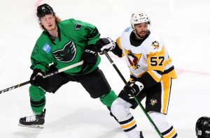 PENGUINS' WILD AFTERNOON ENDS WITH OVERTIME LOSS TO PHANTOMS