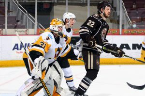 PENGUINS EDGED OUT BY BEARS, 3-1