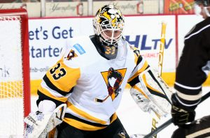 Read more about the article PENGUINS LOSE TIGHT RACE IN HERSHEY, 3-1