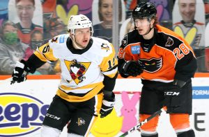 Read more about the article PENS' STREAK SNAPPED IN 6-2 LOSS AT LEHIGH VALLEY